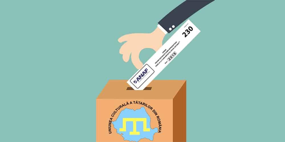 Formularul 230 Uniunea Tatara